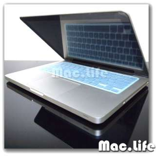 TP BLUE Silicone Keyboard Cover Skin for Macbook Pro 13
