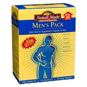 Nature Made Mens Pack, 30 Packets Health & Personal Care