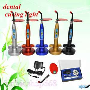 Dental 5W Wireless Cordless LED Curing Light Lamp 1500mw 1st