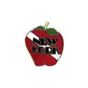New Collectable New York Big Apple Scuba Diver Hat & Lapel