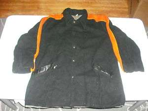 Mens 1960s Wool Motorcycle Jacket Harley Butwin XL Nice