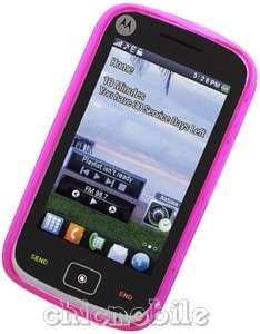 HOT PINK TPU Case Cover NET 10 TRACFONE MOTOROLA EX124G