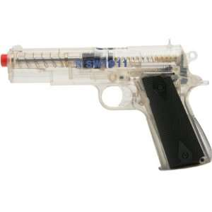 Smith & Wesson M4505 Spring Pistol, Clear  Sports