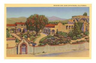 San Juan Capistrano Mission, California Posters at AllPosters