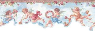 Die Cut Cute Cherubs, ANGELS Wallpaper Border NK74869DC