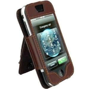 PCMICROSTORE Brand F1 Apple iPhone Genuine Leather Case