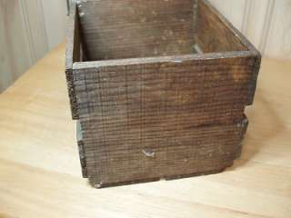 Vinage Anique Wooden Milk Delivery Bole Carrier wih Wood Bail