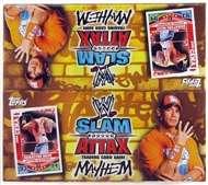 2010 Topps WWE Slam Attax Mayhem Wrestling Booster Box