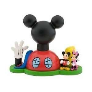 Disney Mickey Mouse Clubhouse Bank / Play Set with Mickey & Minnie