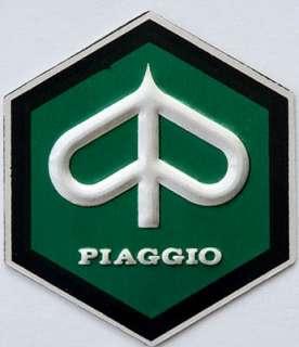 Vespa PIAGGIO BADGE STICKER Aluminium BIG