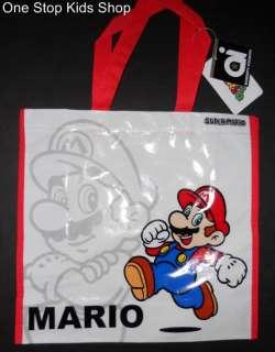 SUPER MARIO BROTHERS Reusable TOTE Bag Sack Backpack YOSHI Luigi