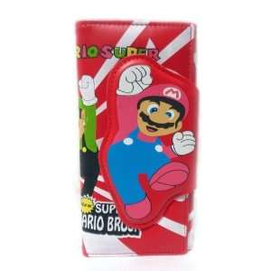 Mario Bro Super Red Color Mario Brother Clasp and Clutch