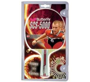 Butterfly SCS 5000 Carbon Shakehand Ping Pong Racket
