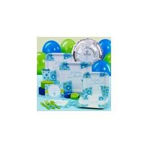 Blessed Baby Boy Baptism/ Christening Party Pack for 8