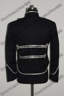 My Chemical Romance Military Parade Jacket Black Silver