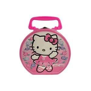 Hello Kitty Tin Box ~ Dancer Hello Kitty Carry All Box Toys & Games