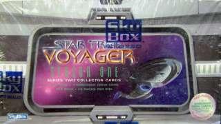 Star Trek Voyager Season 1 Series 2 Trading Cards BOX