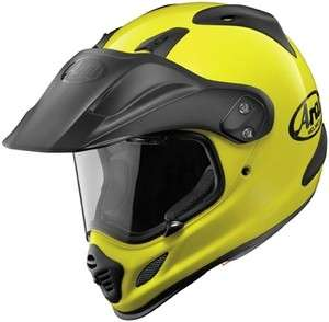 NEW Arai XD4 Dual Sport Adventure Helmet Fluorescent Yellow