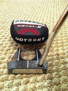 ODYSSEY PUTTER METAL X #7 35 INCH 35 METALX NUMBER 7 GOLF w/ Cover