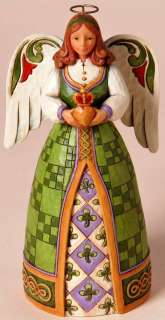 SHORE HWC *FILL YOUR HEART WITH IRISH BLESSINGS* IRISH ANGEL ARD WORLD