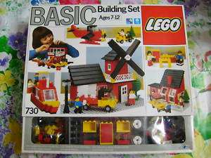 Lego 730 Basic Building Set MISB NEW VERY RARE!!!!!