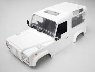 10 SCALE LAND ROVER HARD BODY , INTERIOR, ACCESSORIES ETC RC4WD Z