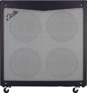 Fender Mustang V 412 4x12 Guitar Speaker Cabinet Black Straight