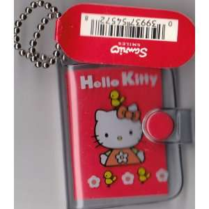 Hello Kitty Mini Address Book Keychain