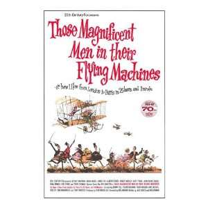 their Flying machines Movie Poster, 11 x 17 (1965)