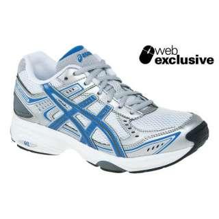 Womens ASICS GEL Express 3 Shoe White/Cobalt