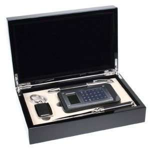 Executive Carbon Fiber Look Business Gift Set Everything