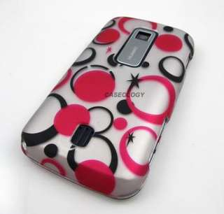 PINK DOTS PHONE COVER HARD CASE CRICKET HUAWEI ASCEND