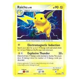 Raichu Lv.40 Mysterious Treasures # 15 Pokemon EX Holo Rare Cards