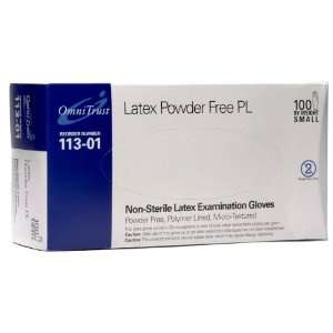 Latex Powder Free Medical Exam Gloves Small 100/box