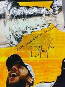 David Krejci Boston Bruins signed autographed Stanley Cup Champs