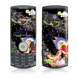 Flower Cloud Design Protective Skin Decal Sticker for Samsung