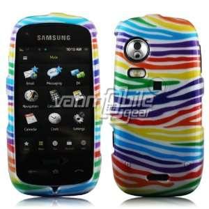 VANMOBILEGEAR Samsung Instinct HD   Colorful Stripes Design Hard 2 Pc