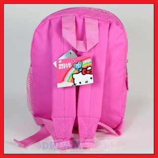 Kitty Pink Glitter Backpack   Girls Bag Toddler Extra Small