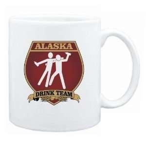 Alaska Drink Team Sign   Drunks Shield  Mug State