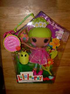 NIB LALALOOPSY Full Size Fairy Doll PIX E. FLUTTERS #26 Sewn On June
