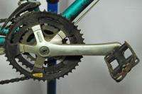 Used 1987 Specialized Hardrock mountain bike commuter bicycle teal