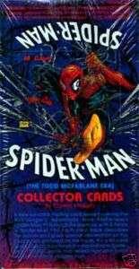 SPIDER MAN 1 TODD MCFARLANE ERA 1992 TRADING CARD BOX