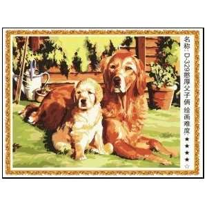 Paint By Number Kit 20x16 best friends dogs Toys