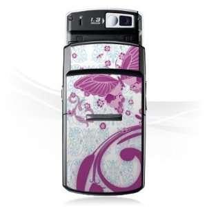 Design Skins for Samsung D800   Pink Butterfly Design