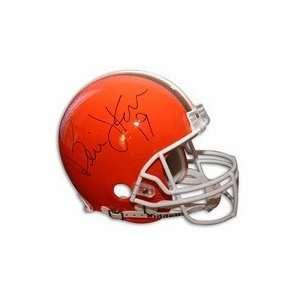 Bernie Kosar Autographed Cleveland Browns Pro Line Football Helmet
