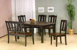 PRIMO INTERNATIONAL 7700 DINING SET TABLE CHAIRS BENCH