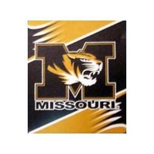 Missouri Tigers 50x60 Royal Plush Blanket Throw Sports
