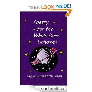 Poetry for the Whole Darn Universe: Malia Ann Haberman: