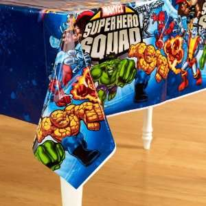 Marvel Super Hero Squad Plastic Tablecover Everything