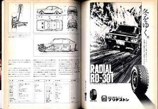 CAR GRAPHIC MAGAZINE Vol.128 Jan,1972 LAMBORGHINI P400 MIURA S